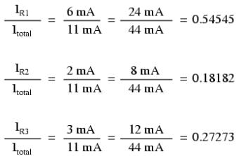 current ratios calculation