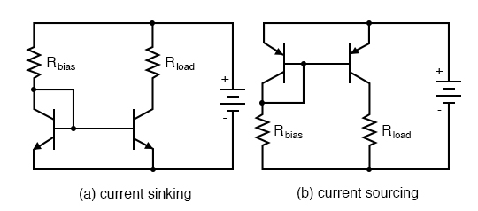 Current mirror circuits.