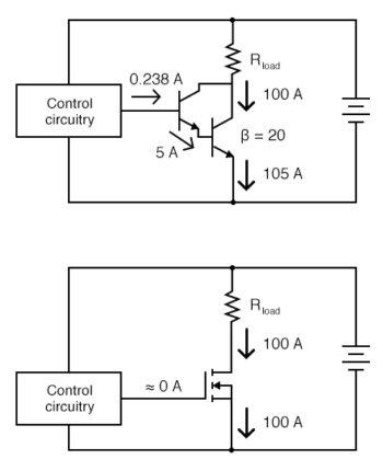 darlington pair transistors