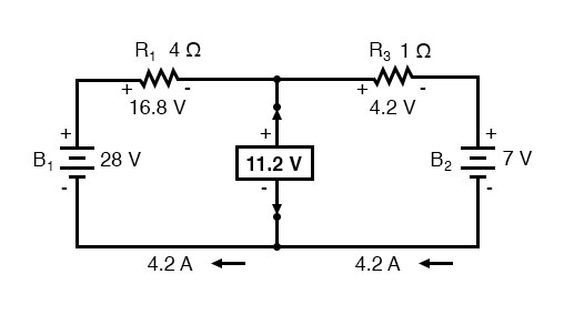 determine thevenin voltage diagram