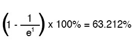 determining the precise percentage equation1
