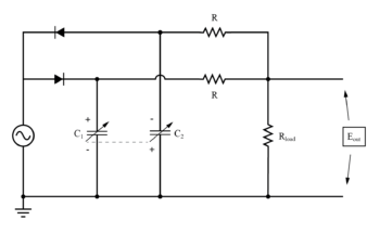 differential capacitive transducer twin t measurement circuit