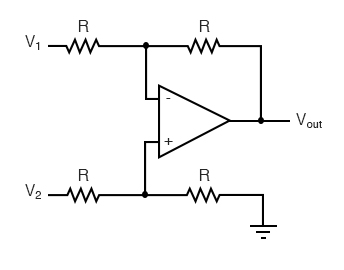 differential op amp circuits
