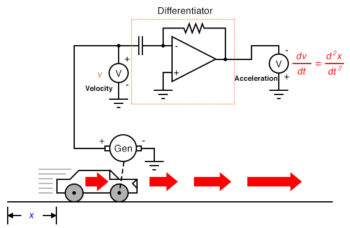 differentiate the signal to obtain acceleration