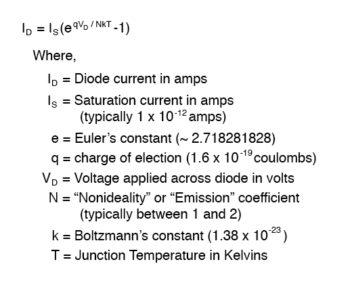 diode equation