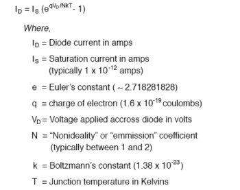 diode equation formula