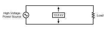 direct measurement of high voltage