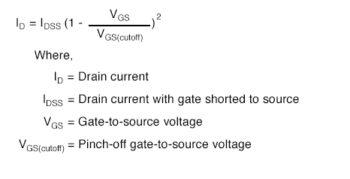 drain current equation