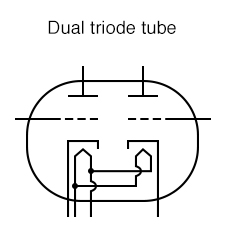 dual triode tube