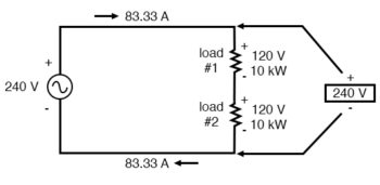 efficiency of high voltage system example
