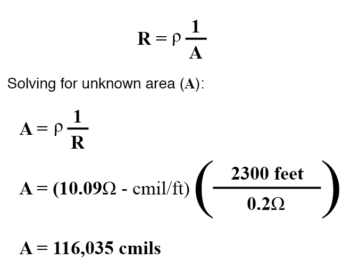 electrical wire manufactured solving formula