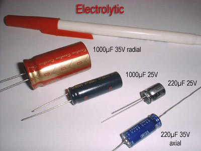 electrolytic type capacitor