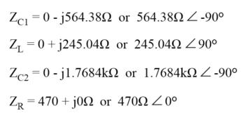 equation for proper impedance