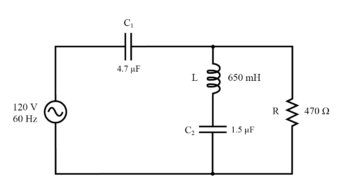 example series parallel rlc circuit