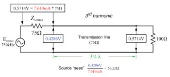 fundamental frequency 3rd harmonic