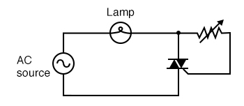 This circuit with the gate to MT2 does function.