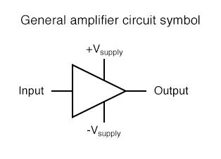 general amplifier circuit symbol
