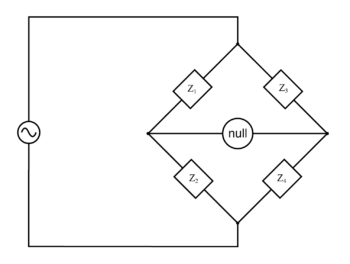 generalized ac impedance bridge