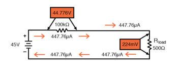 higher value dropping resistor consideration