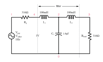 impedance matched filter