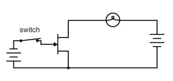 jfet closed switch