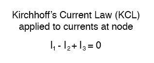 kirchhoffs current law