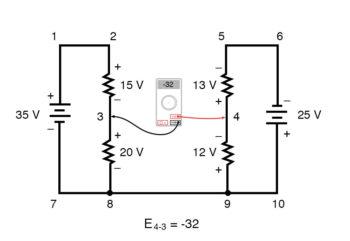 kirchoffs voltage law diagram 6