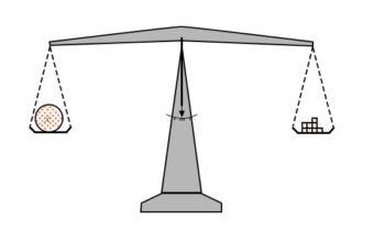 laboratory scale balance beam