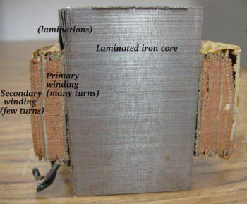 laminated iron core