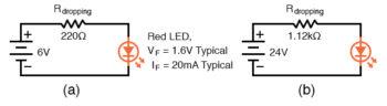 light emitting diode operation