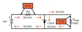 lower value dropping resistor consideration