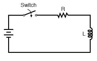 lr time delay circuit