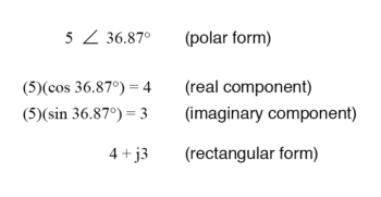 magnitude vector in terms of real and imaginary