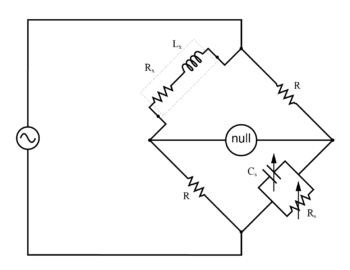 maxwell wein bridge measures an inductor