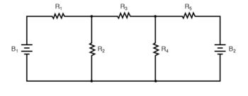 mesh current diagram two