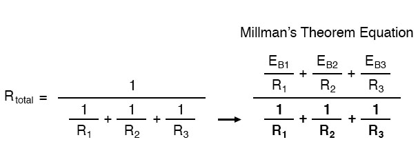 millmans theorem equation image