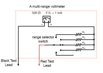 multi range voltmeter