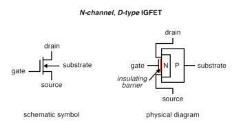 n channel d type igfet 1