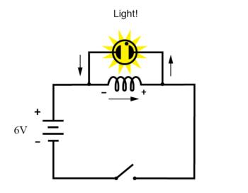 neon lamp circuit current