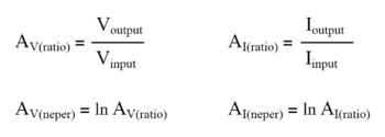 neper equation
