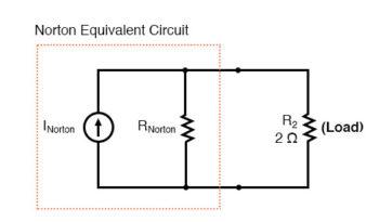 norton equivalent circuit diagram1