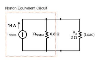 norton equivalent circuit diagram3