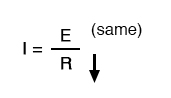 ohm law equation two