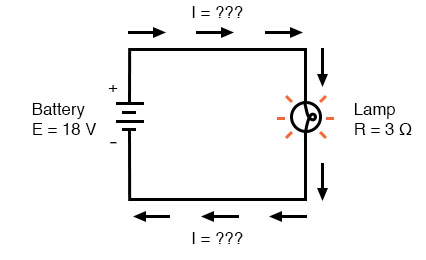 ohms law circuit voltage increase