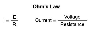 ohms law equation