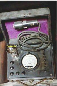 old vacuum tube voltmeters