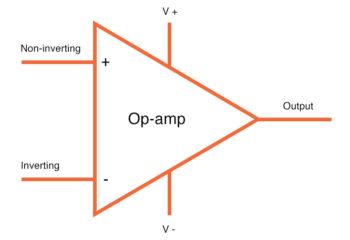 op amp in schematics