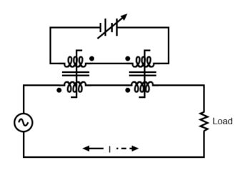 out of phase dc control windings