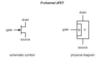 p channel jfet symbol