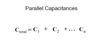 parallel capacitances